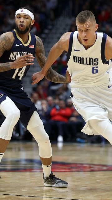 Mavericks And Kristaps Porzingis To Host Pelicans At American Airlines Center