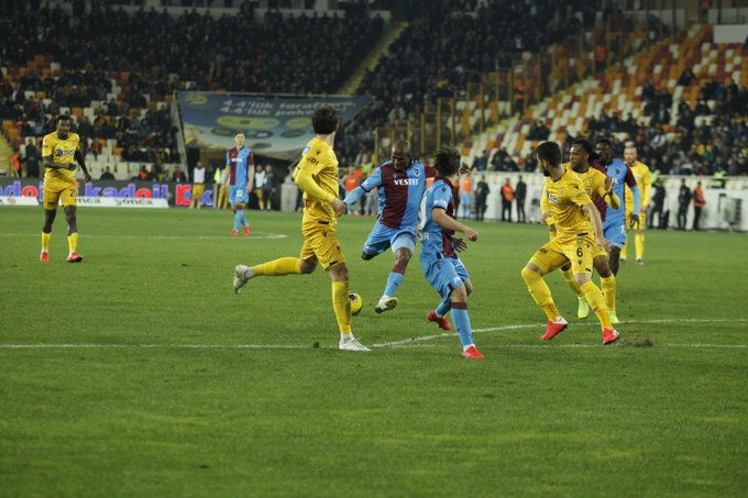 Turkish Super Lig: Nwakaeme Scores, Mikel Subbed On As Trabzonspor Beat Malatyaspor To Go Top
