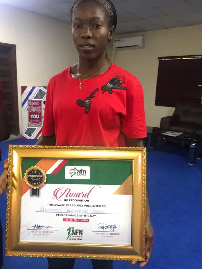 Nwokocha's Historic Run Headlines Ekiti AFN Classics