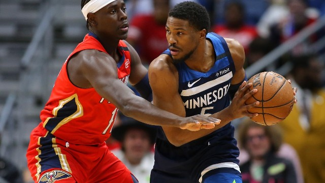 T-wolves And Malik Beasley To Host Magic At Target Center