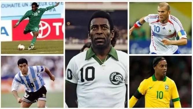Fans Vote Zidane Better Dribbler Than Okocha