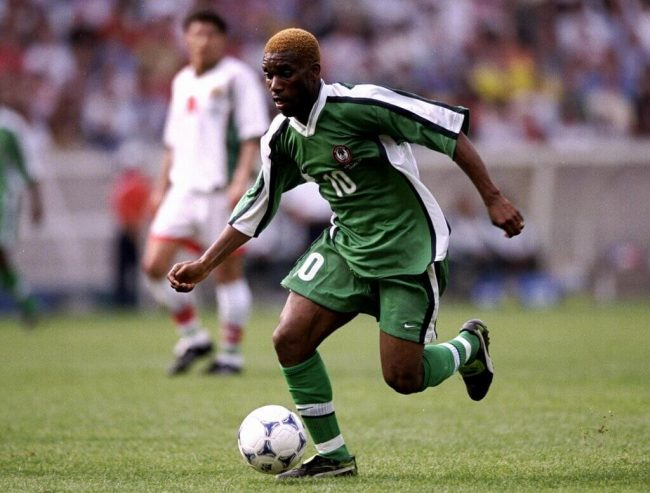 Photo of CAF: Okocha One Of Africa's Most Talented Dribblers