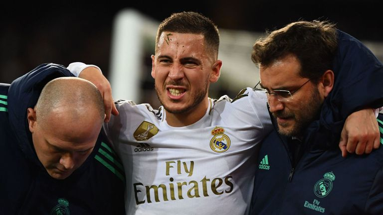 Hazard Rates First Season At Real Madrid Worst In Career