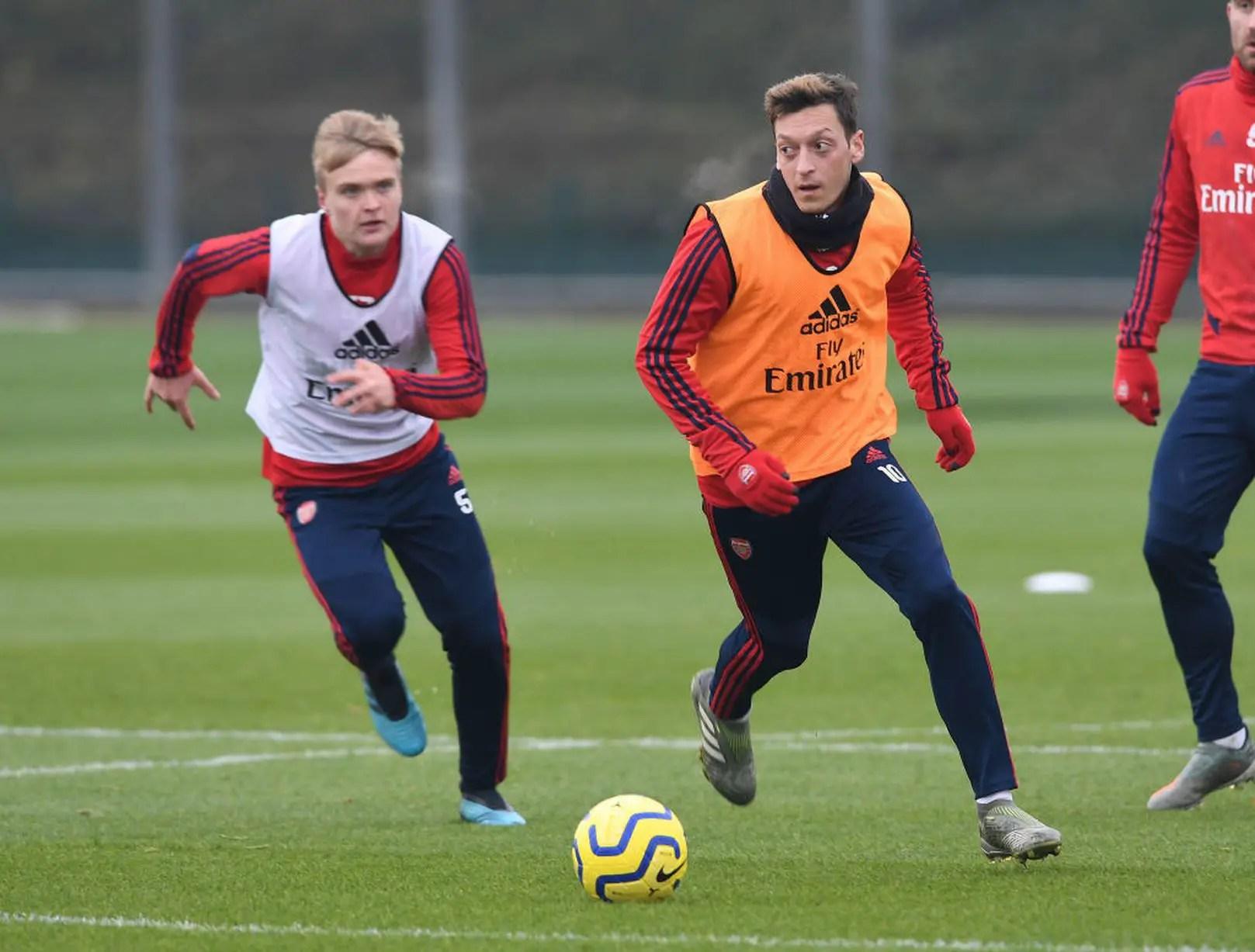 Coronavirus: Arteta Absent As Arsenal Squad Resume Training
