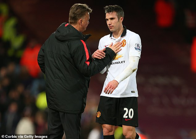 Van Persie: How Van Gaal Forced Me Out Of Man United