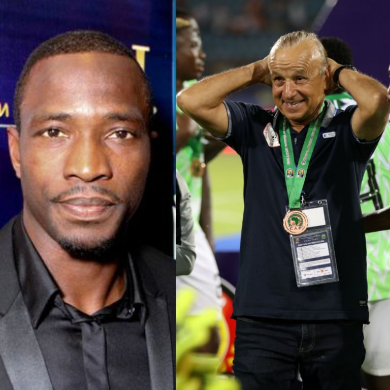 Utaka: 'Great Coach' Rohr Deserves New Eagles Contract, Can Win AFCON 2021 Title