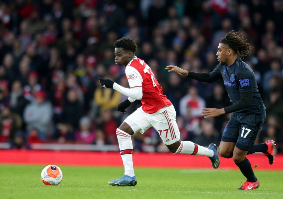 Borussia Dortmund 'To Raid Arsenal For  Saka'