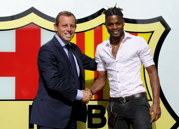 Song Admits Leaving Arsenal To Earn More Money At Barcelona