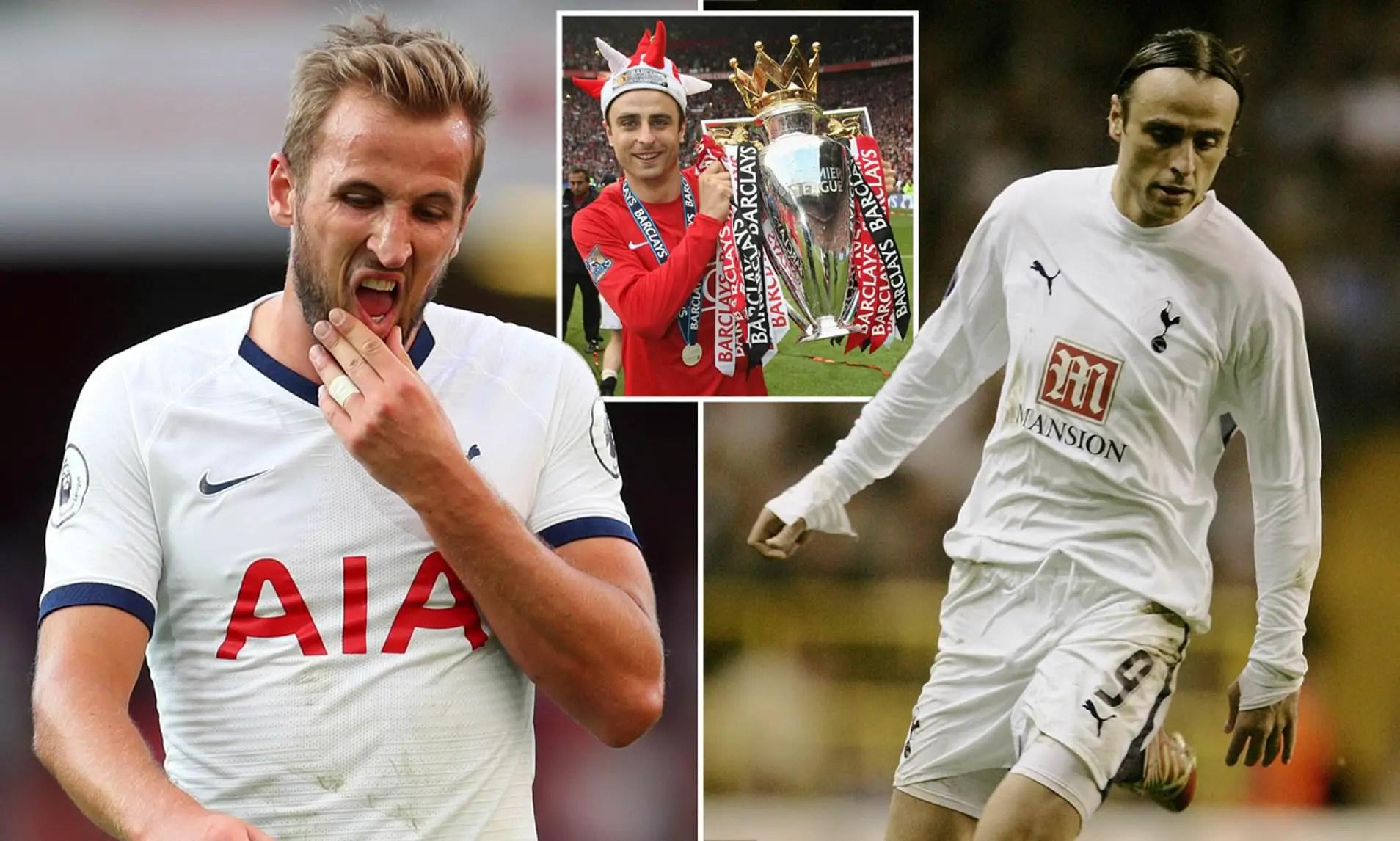 Berbatov Urges Kane To Dump Spurs For Man United To Save Career