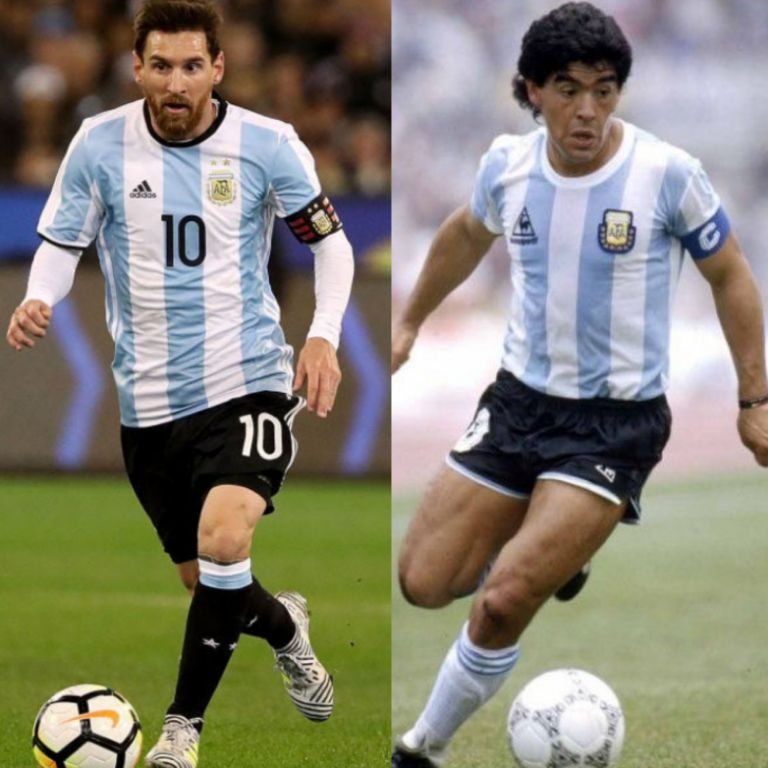 WHO'S GREATER?: Maradona Was Pure Art, Messi Is Speedy Gonzales   –Ayala
