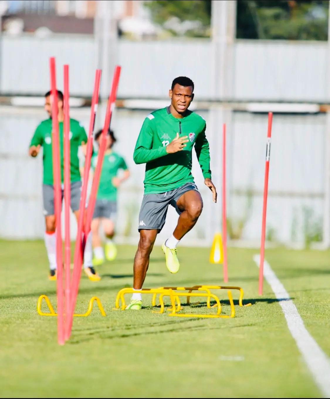 Coronavirus: Abdullahi Happy To Be Back In Training With Bursaspor