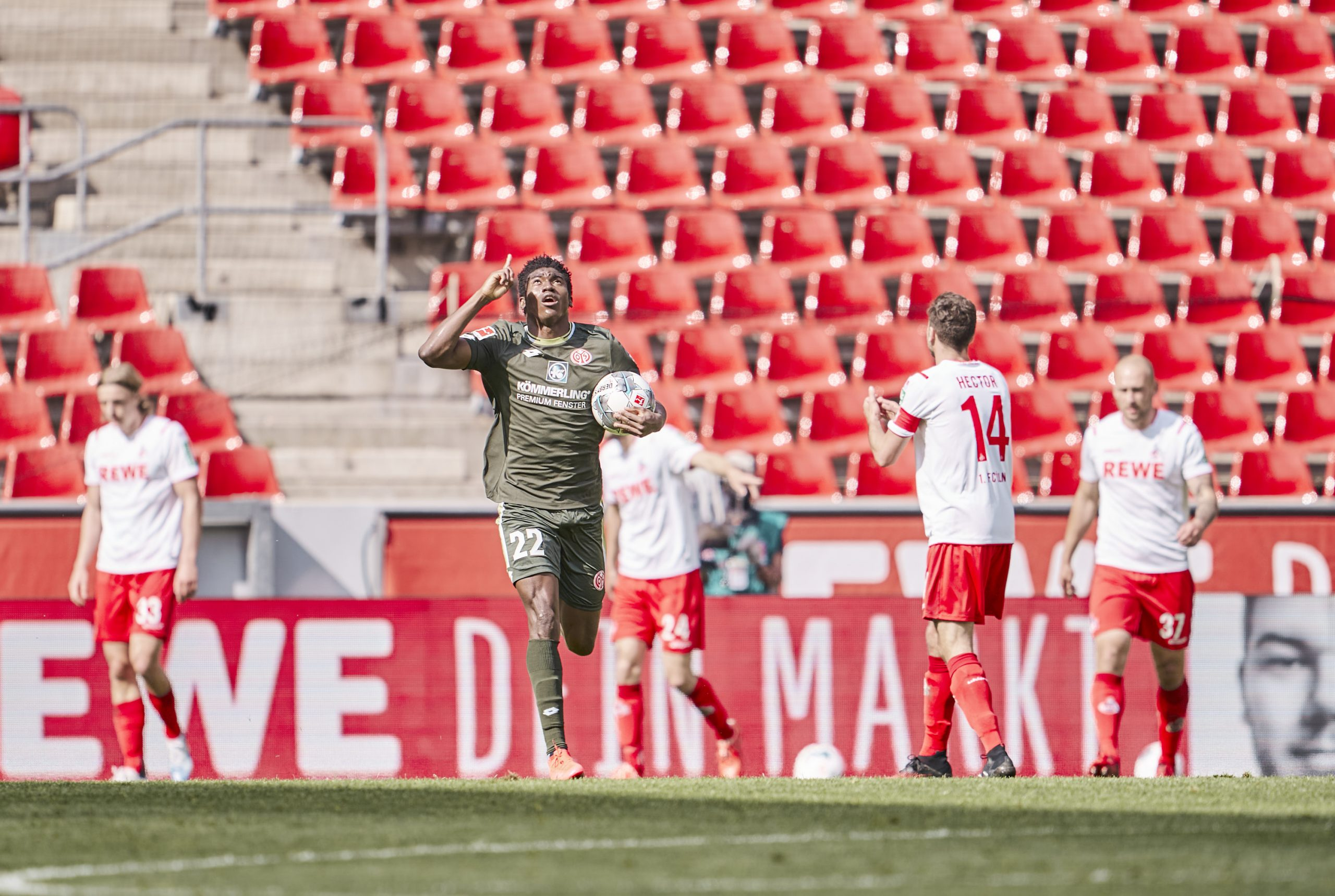Awoniyi Eager To Score More Goals For Mainz