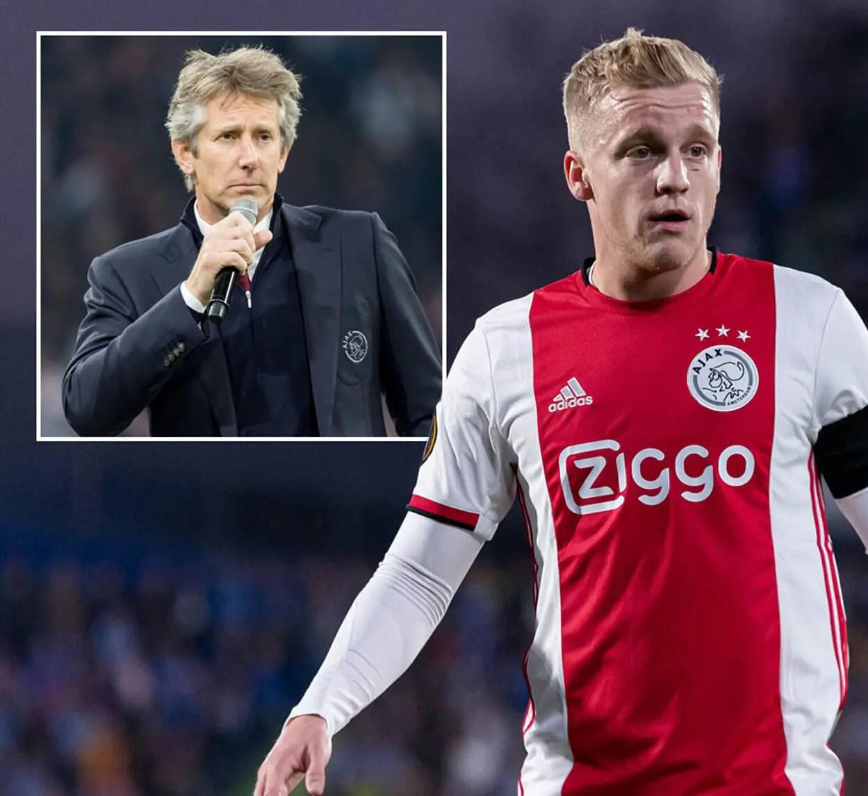Van der Sar Confirms Man United Interested In Ajax Midfielder Van de Beek