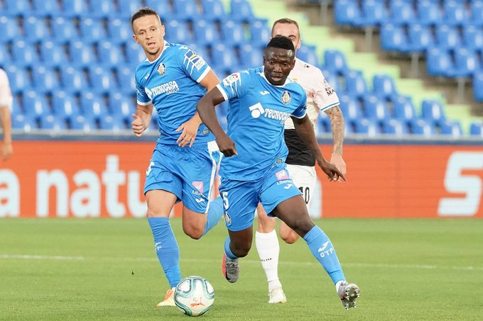 LaLiga: Etebo To Miss Getafe Vs Valladolid With Muscle Injury