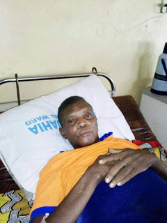 Bedridden Nwoha Grateful To 'Kind Kanu', Beckons On Sports Minister Dare