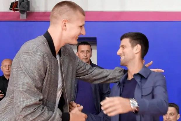 NBA Star Contracts Coronavirus After Embracing Djokovic