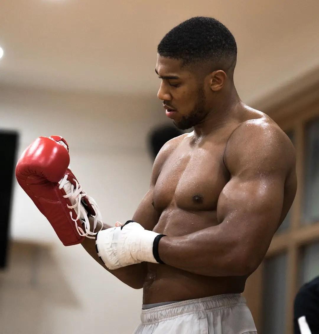 Joshua Not Interested In Fighting Tyson