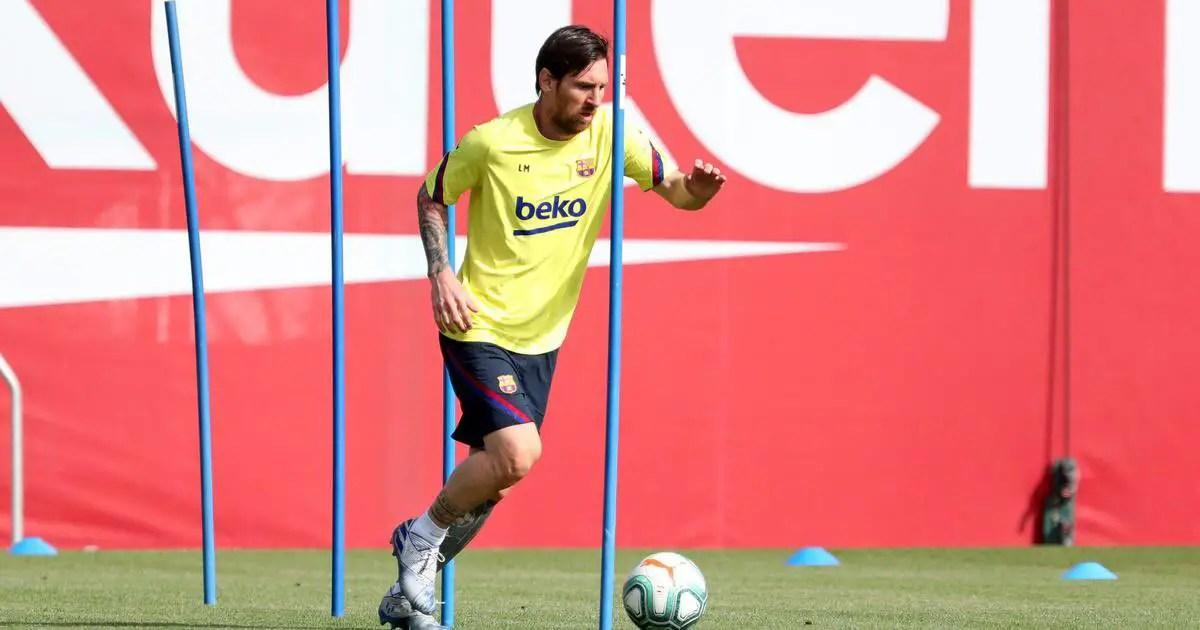 Barcelona Confirm Messi Injury