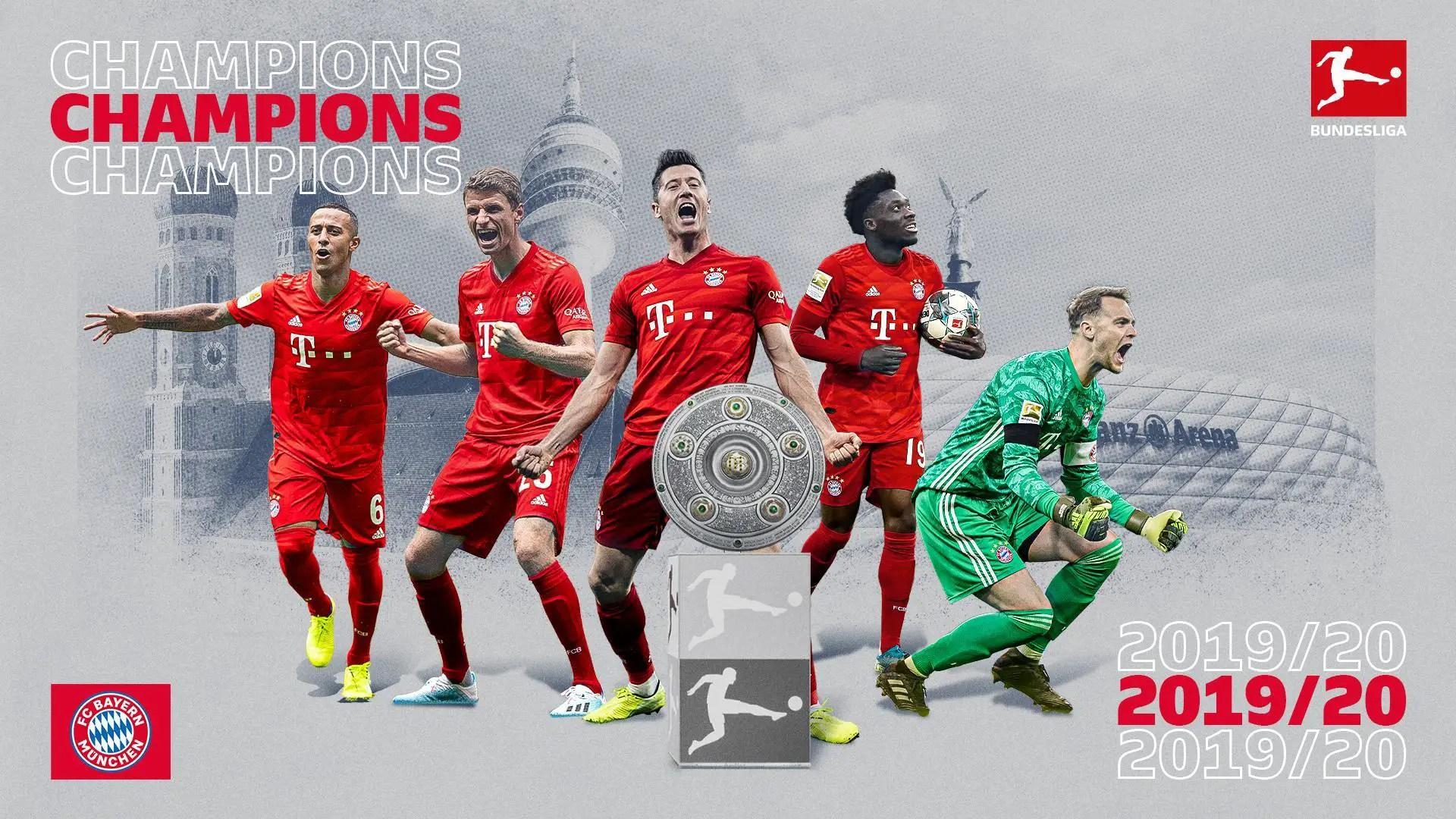 Bundesliga: Collin's Paderborn Relegated; Bayern Win Eighth Consecutive Title