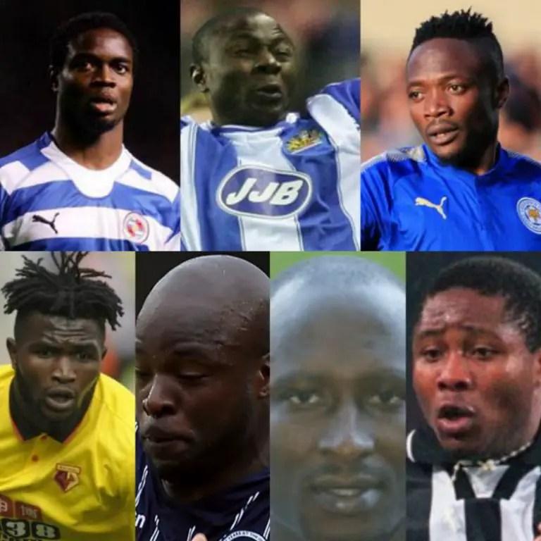 Top 7 Nigerian Flops In English Premier League History