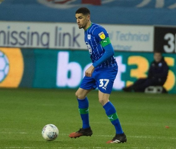 Fit-Again Balogun  Returns To Action   In Wigan's  Friendly Vs Fleetwood Town