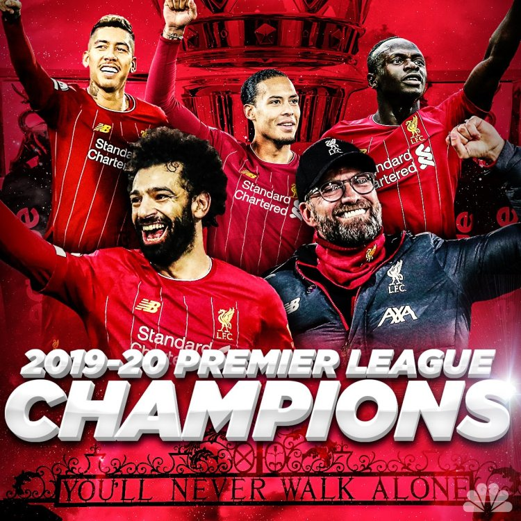 Liverpool Crowned EPL Champions After Chelsea Beat 10 ...