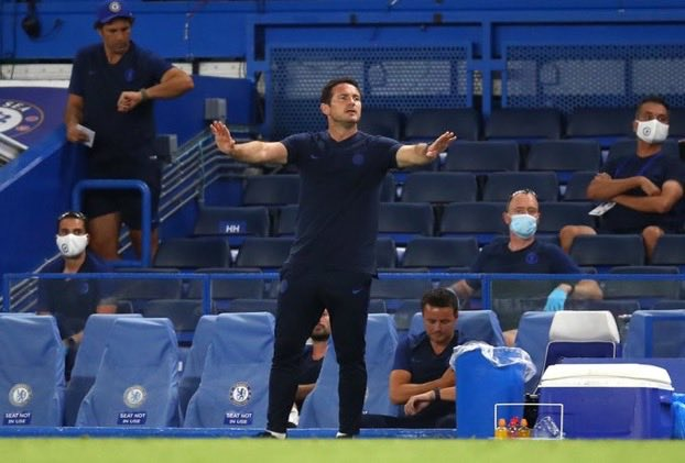Lampard: Chelsea Must Focus On Top Four Rather Than Title