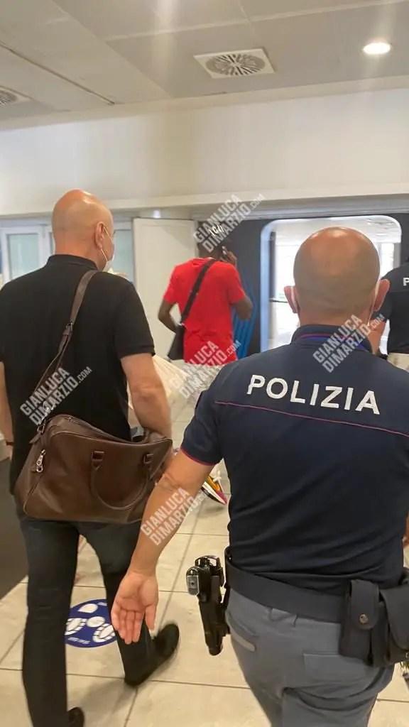 Osimhen Arrives Italy Ahead Napoli  Move