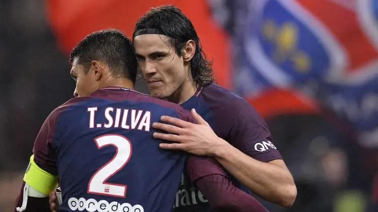 Cavani,Thiago Silva To Leave PSG This Summer