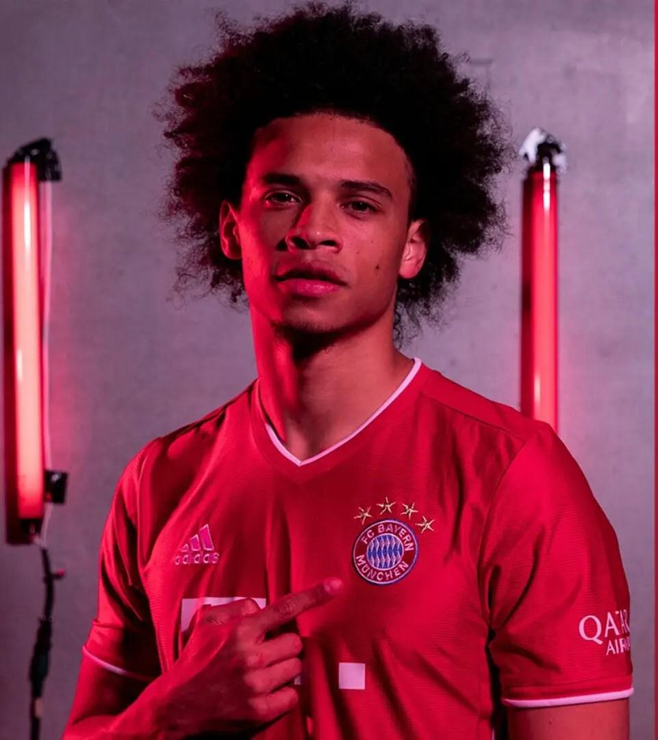 Sane Joins Bayern Munich On Five-Year Deal