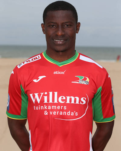 KV Oostende Announce Departure Of Ex-Eagles Striker Akpala