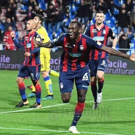 Euro Roundup:  Simy Nwankwo Scores Goal No 17 For Crotone; Azeez Subbed On In Granada's Win   At Sociedad