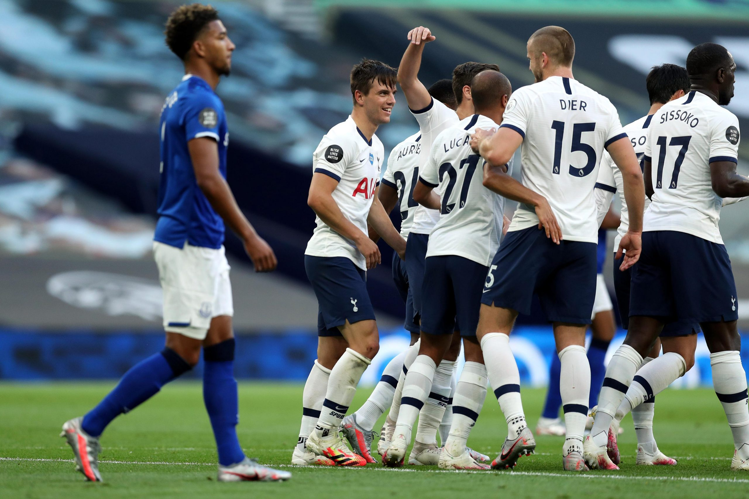 Premier League: Iwobi Features As Spurs Beat Everton To Keep UCL Qualification Hopes Alive