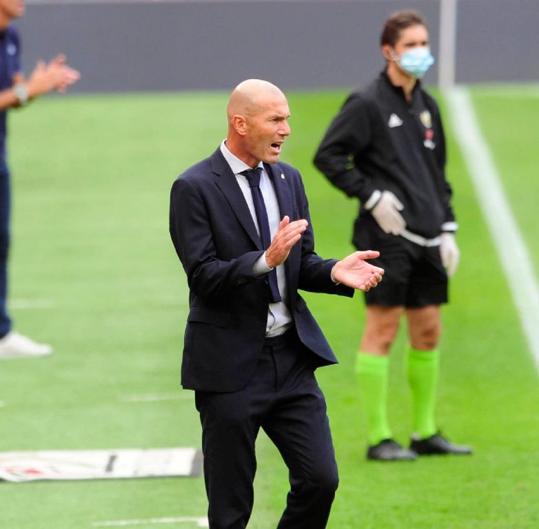 Zidane Focuses On Leading Madrid To 34th Laliga Title In History