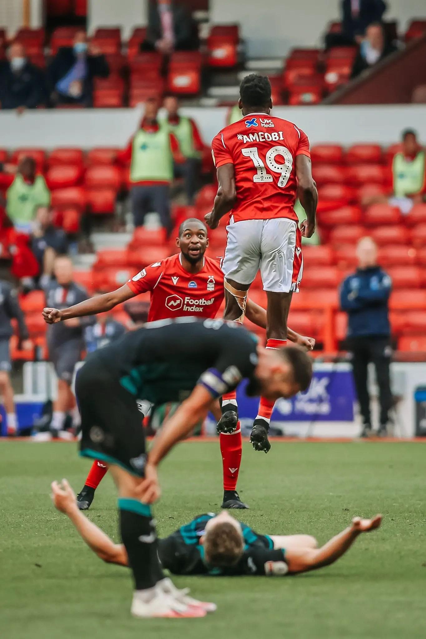 Lamouchi Hails Ameobi's Impact In Nottingham Forest Draw Vs Swansea