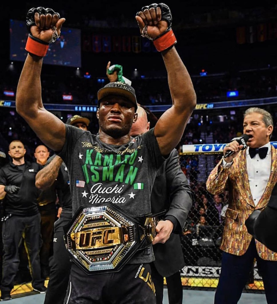 Nigeria's UFC Champion Usman Given Six-Month Suspension
