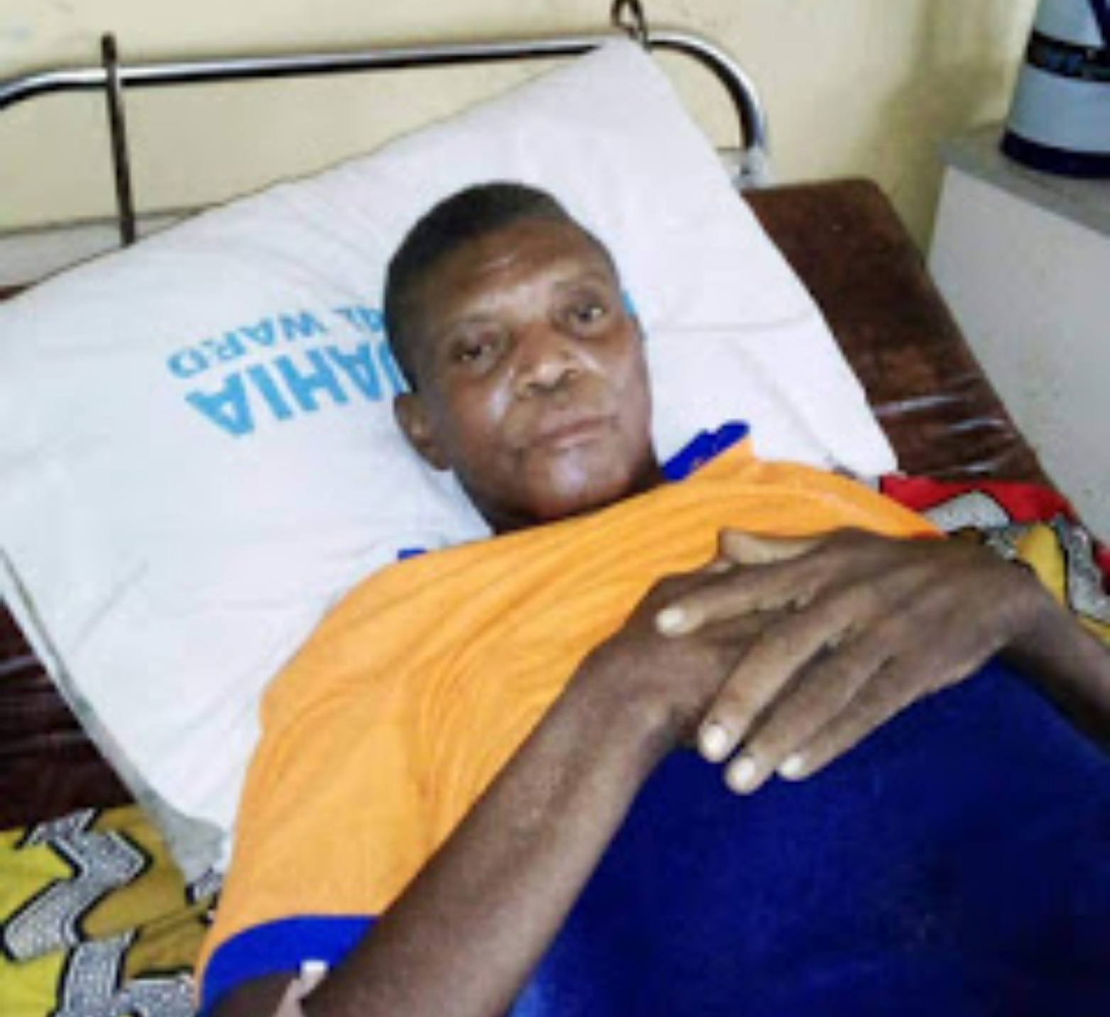 Ailing Ex-Eaglet Nwoha Thankful To Iloenyosi For Help In Paying Bills