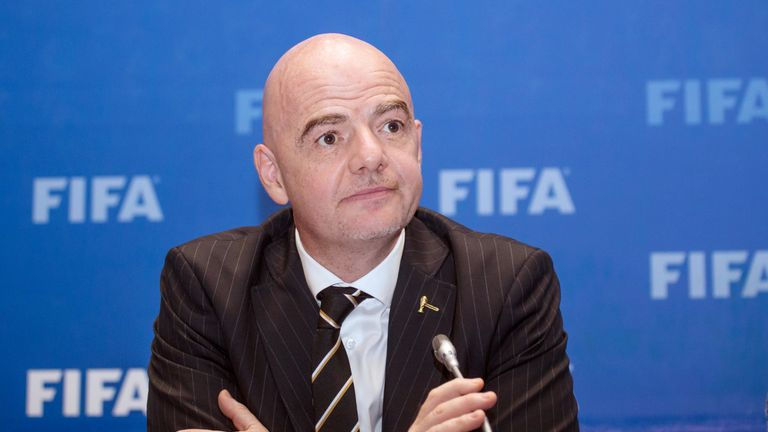FIFA President Infantino Tests Positive For Coronavirus