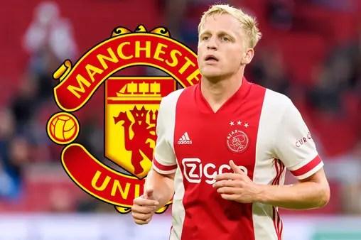 Man United Announce Van De Beek Signing From Ajax