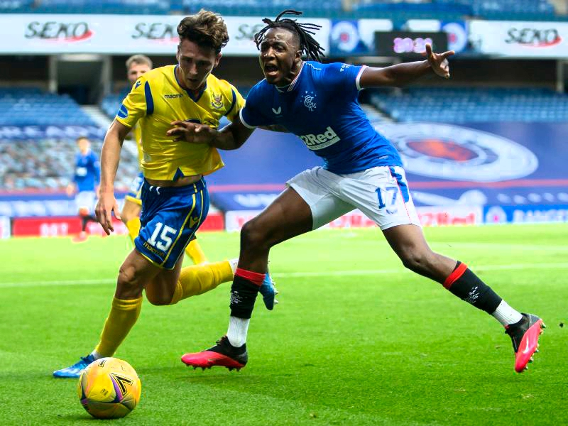 Rangers Fans Hail Aribo As Club's Driving Force Vs St. Johnstone