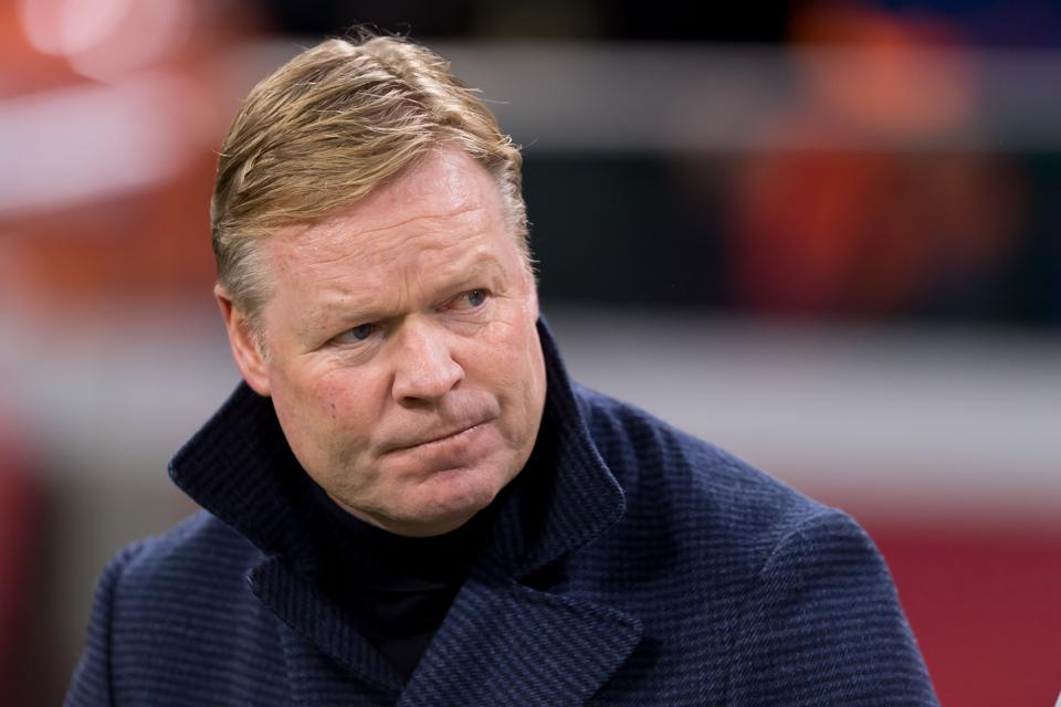 Barcelona Announce Koeman As New Coach