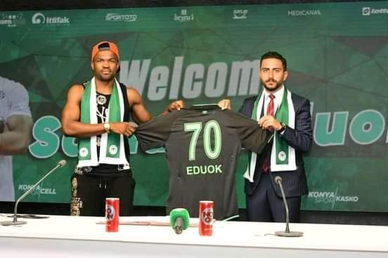 Ex-NPFL Star Eduok Joins Turkish Super Lig Club Konyaspor On Loan