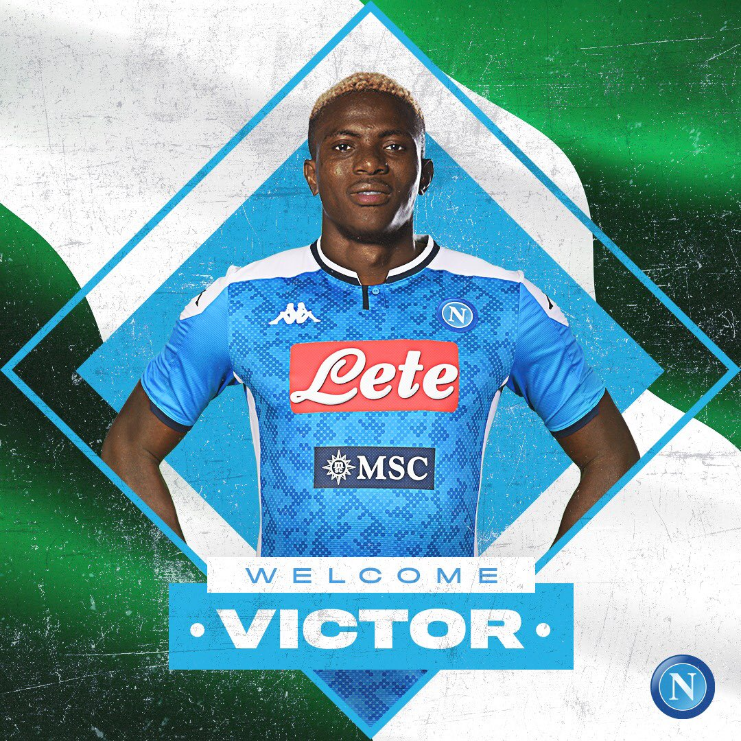 Napoli President: 'We paid €80m for Osimhen'; Striker On '€4-4.5m' Per Year