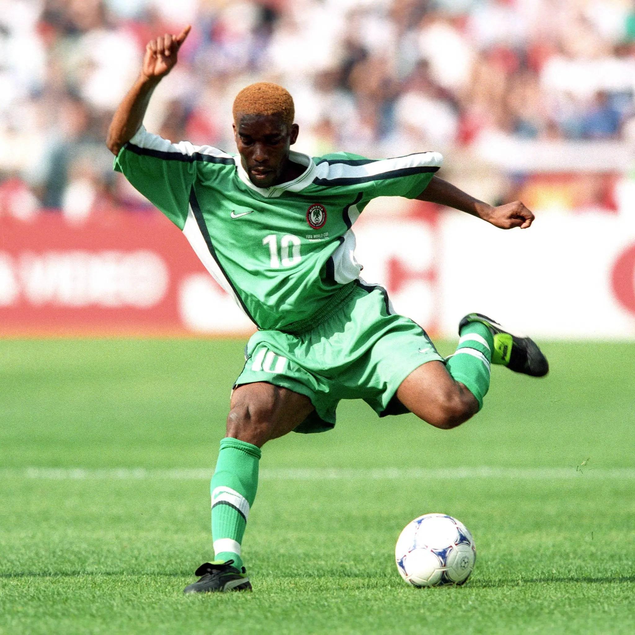 FIFA: Okocha Born Entertainer, Sensational Talent
