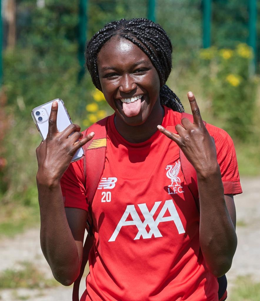 Babajide Voted Liverpool Women's Player Of The Season