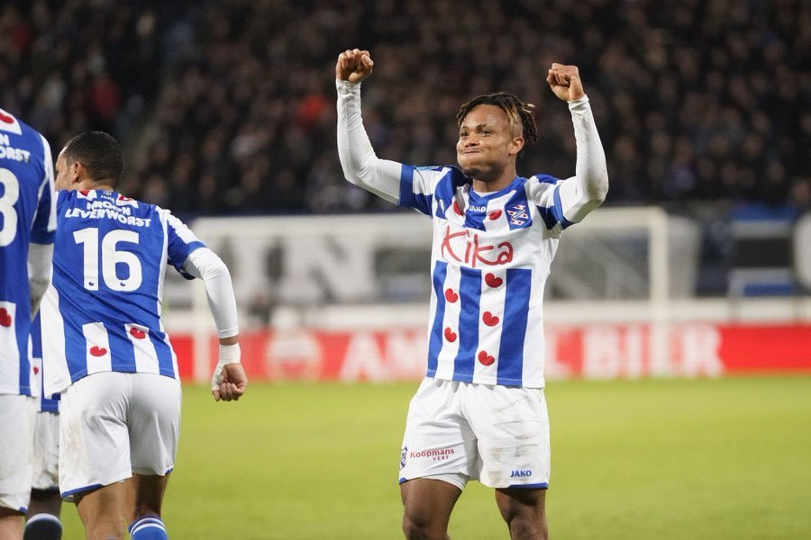 Ejuke Gets Heerenveen Clearance For CSKA Moscow Transfer