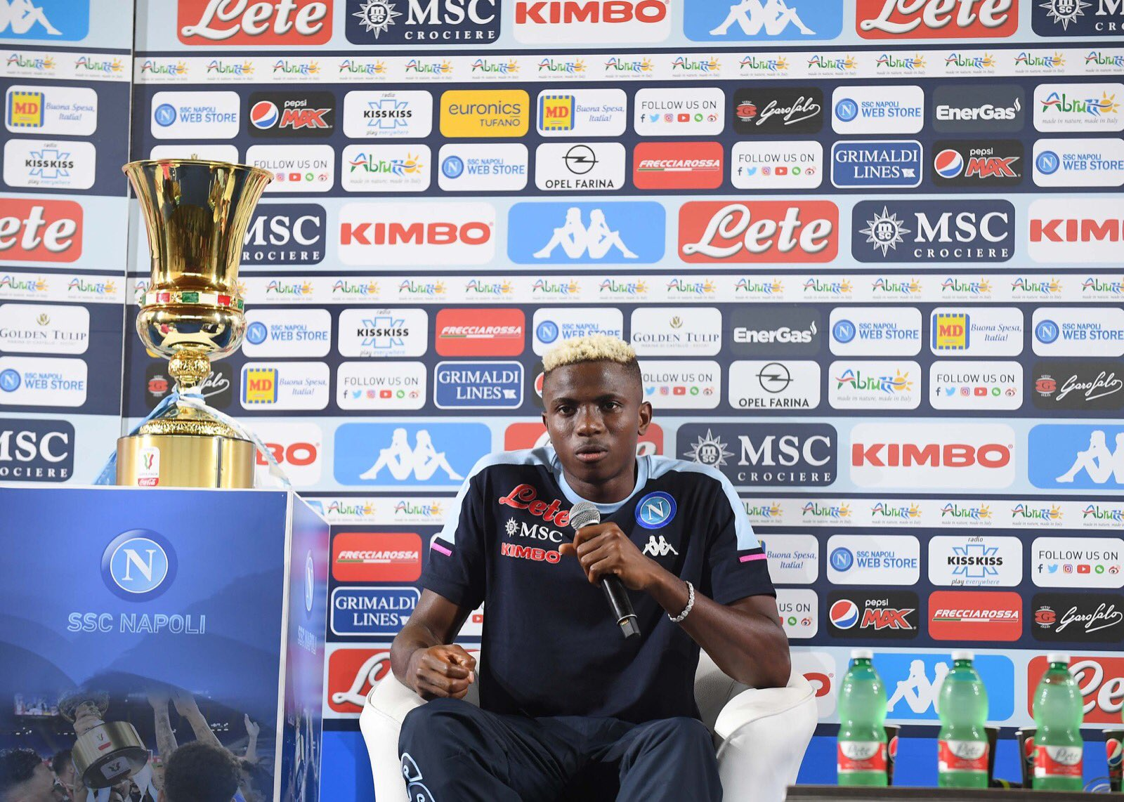 'I Have Taken A Big Leap' – Osimhen Ready For New Challenge At Napoli