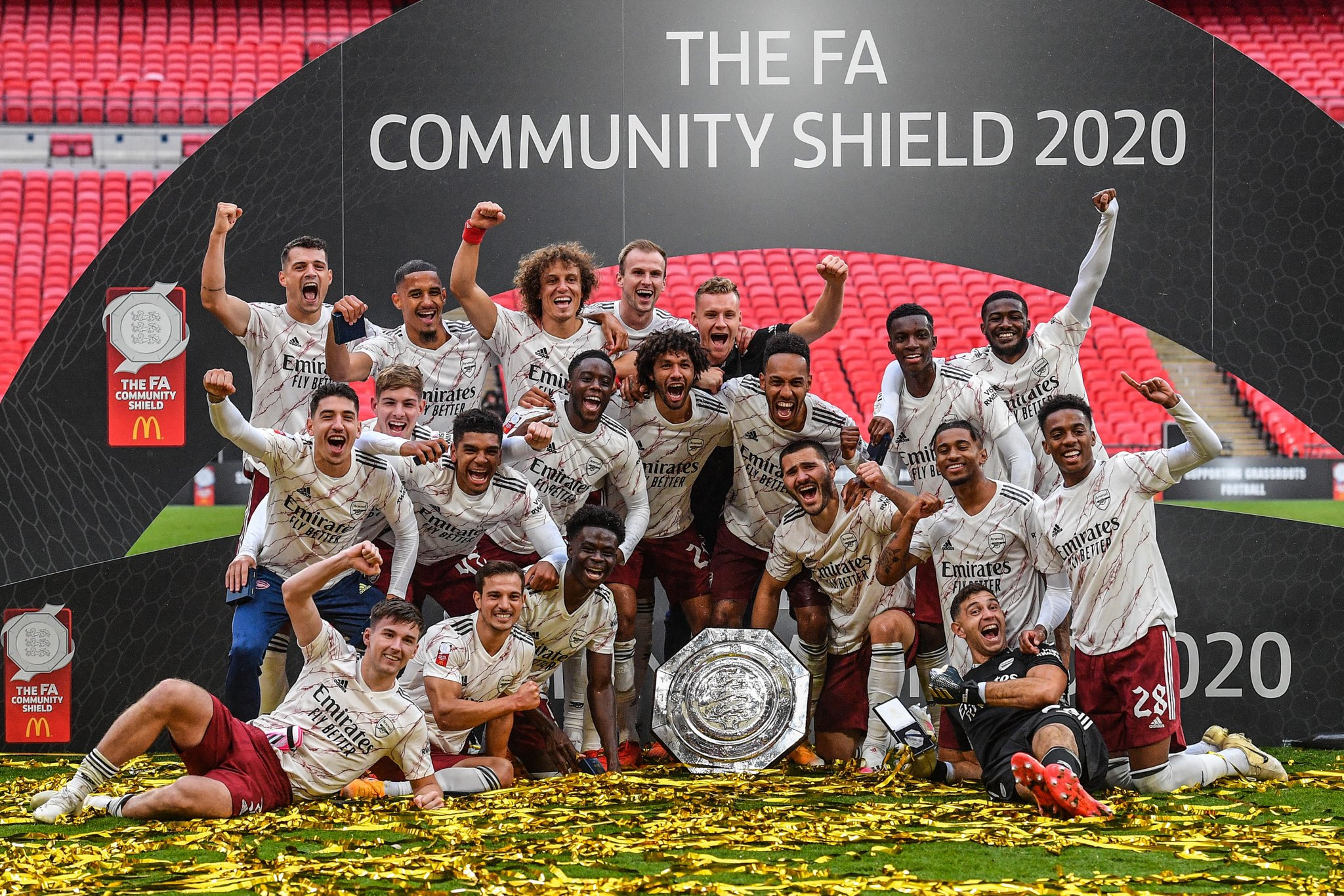 Update:  Arsenal Beat Liverpool On Penalties, Clinch 16th Community Shield Title