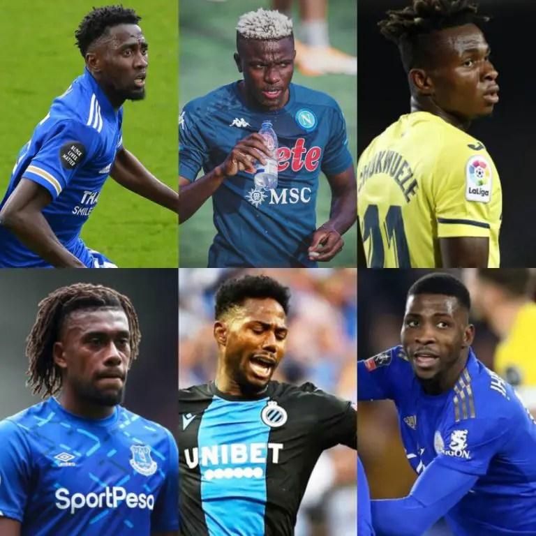 10 Most Valuable Nigerian Footballers Worth €196.5m; Simy's Market Value Soars