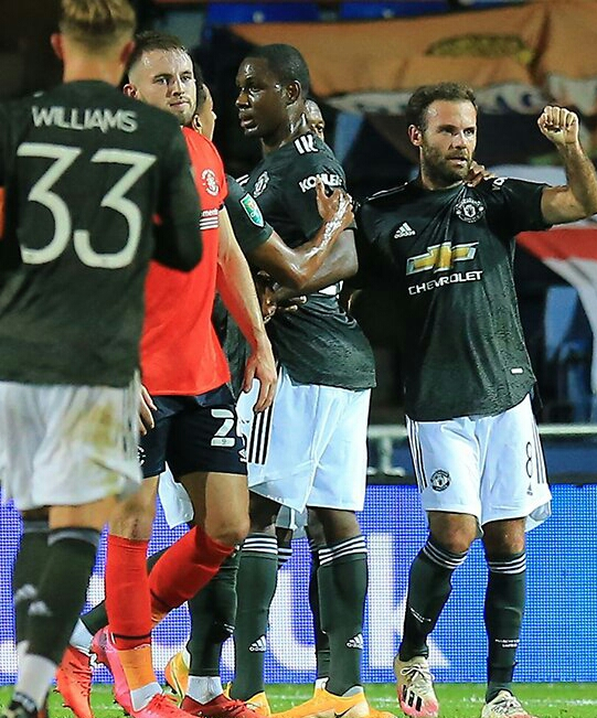 Carabao Cup: Ighalo Helps Man United Beat Luton Town, Qualify For 4th Round